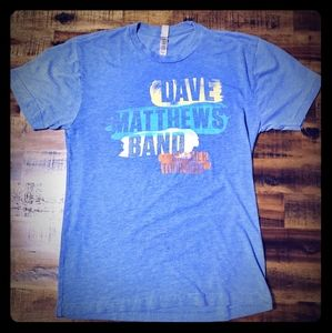 DMB 2013 Summer Tour T-shirt - Dave Matthews Small